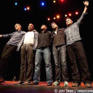 Photographer: Jeff Twiss. The House Jacks at the Stateside Theatre. Courtesy of The Live Music Capital Foundation.