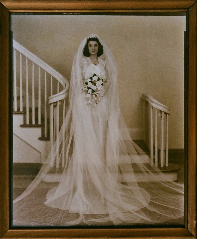 Grandma Naleid wedding dress